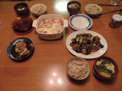 9.13夕食