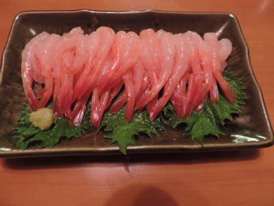 9.20甘えびの刺身