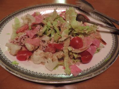 9.21カレーのお供のサラダ