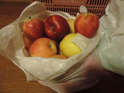 9.23貰ったリンゴ