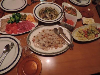 9.30夕食(コシャリ)