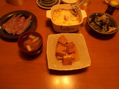 10.4夕食
