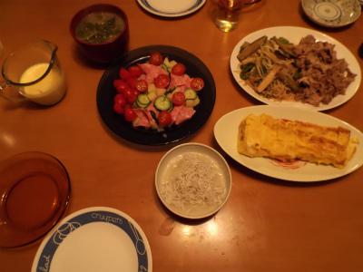 10.5夕食