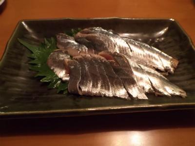 10.9秋刀魚の刺身