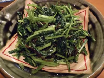 10.19壬生菜の浅漬け
