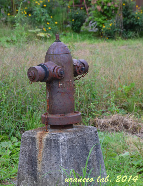9月4日錆びた消火栓