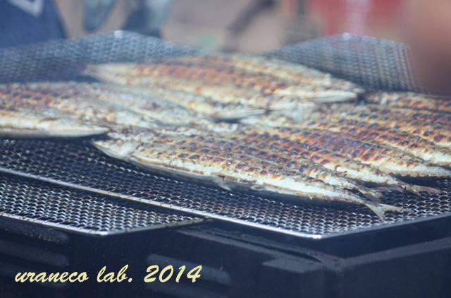 9月8日目黒のさんま祭り