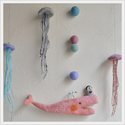 ピンクのマッコウクジラ