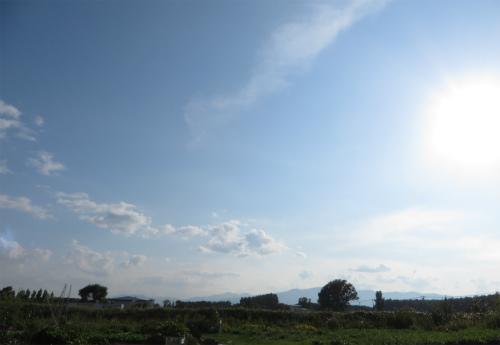 秋の手稲山