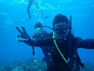 2 一日目diving