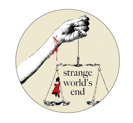 strange world's end 2014レコ発ツアーステッカー