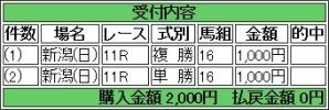 20140831 テイケイラピッド 応援勝負!