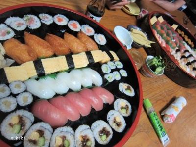 巻き寿司中心5人前