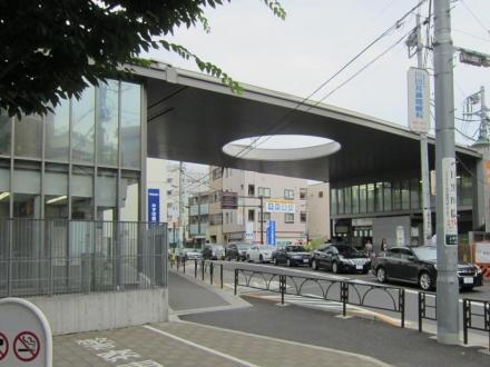 上野毛駅①