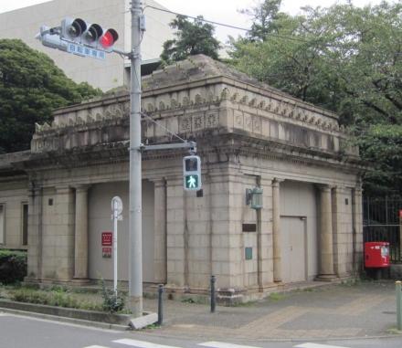 旧京成博物館動物園駅