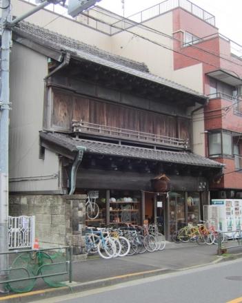三崎坂沿いの建物③ tokyobike-1