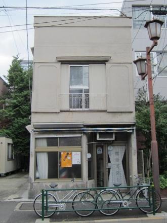 三崎坂沿いの建物⑯ 理容スター