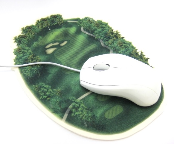 ゴルフコースマウスパッド