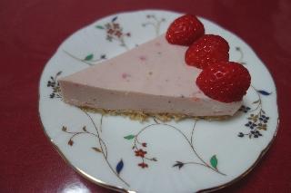 いちごチーズケーキ140303