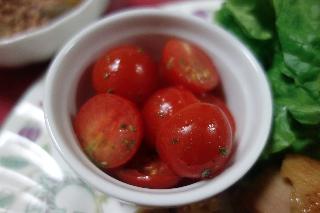 プチトマトのマリネ407
