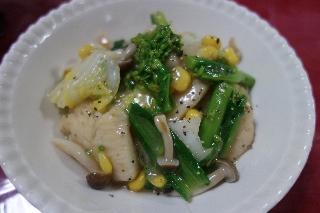 鶏肉と白菜のうま煮410