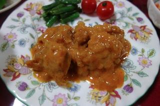 チキンのパプリカ風味煮0418