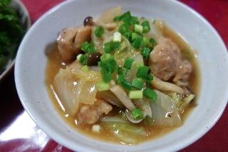 鶏肉と白菜のとろとろ煮429