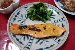 鮭の味噌マヨ焼き508