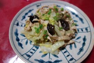 白菜と豚肉の炒め煮509