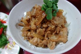 豚肉のポン酢炒め525