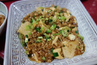 麻婆豆腐0526