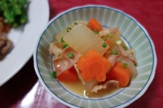 大根のスープ煮613