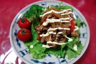 焼き肉サラダ703