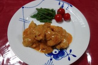 チキンのパプリカ風味煮706