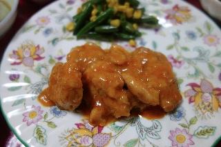 チキンのパプリカ風味煮804