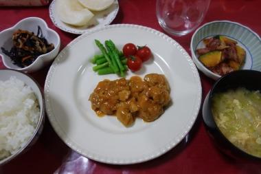 夕飯140914