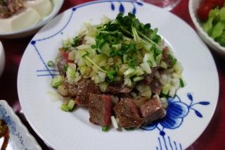 野菜たっぷりステーキ916