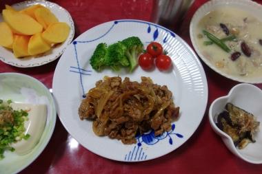 夕飯141015