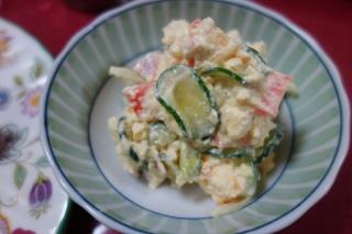 豆腐のポテトサラダ風