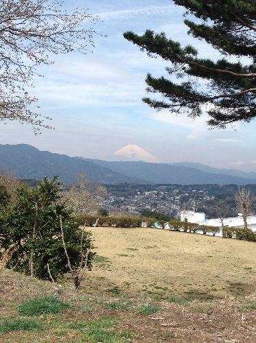 小室山から富士山