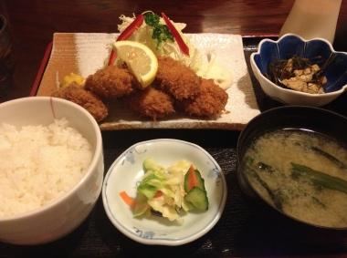 カキフライ定食1004