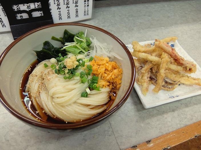 宇野製麺所ぶっかけ1