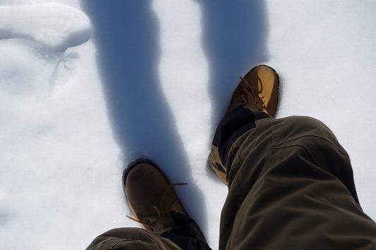 雪散歩 3