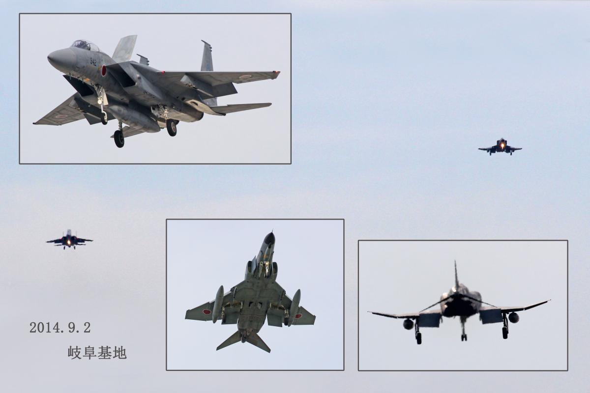 F15 ファントム 岐阜基地
