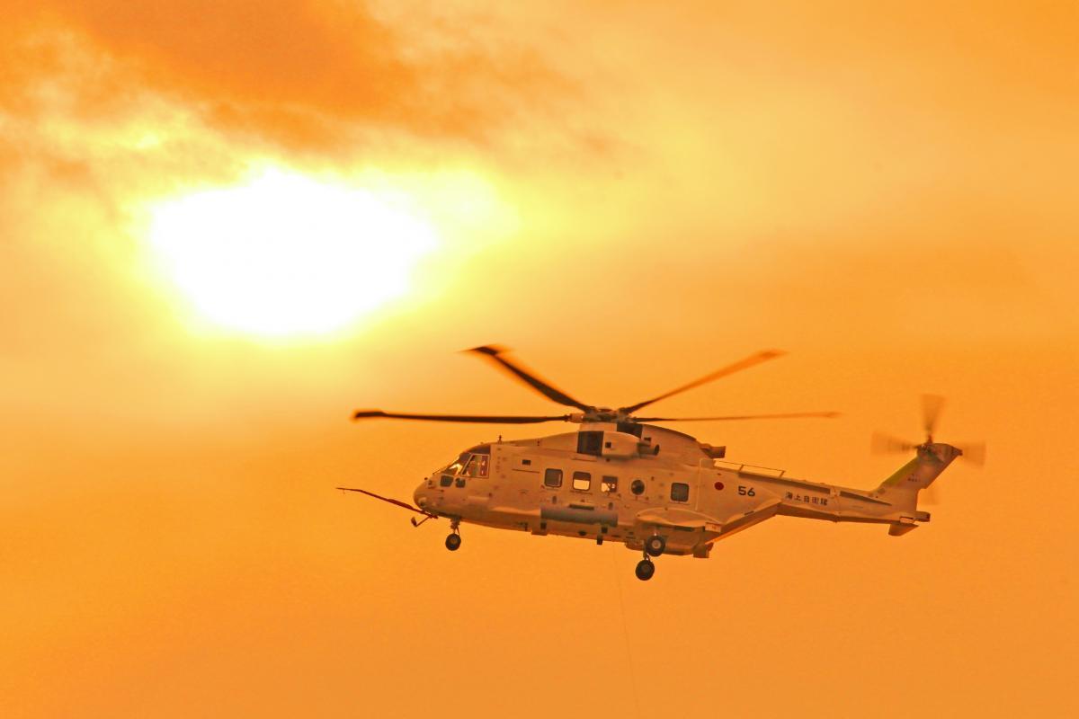 海上自衛隊 MCH-101 ヘリ