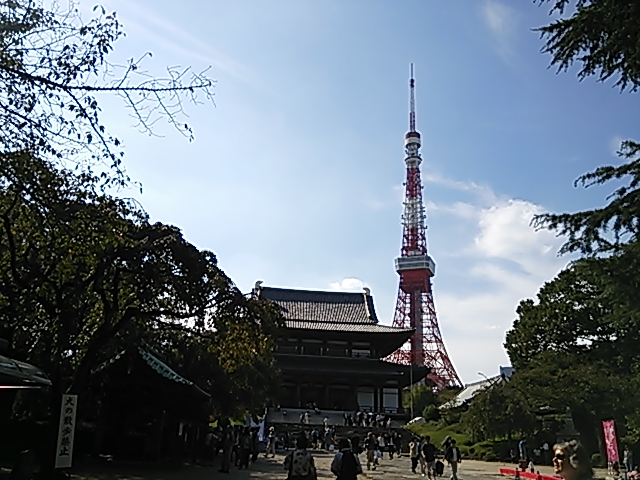 増上寺0921