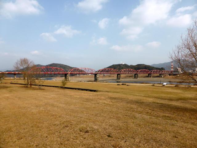 四万十川橋(赤鉄橋)3