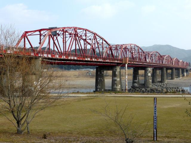 四万十川橋(赤鉄橋)4