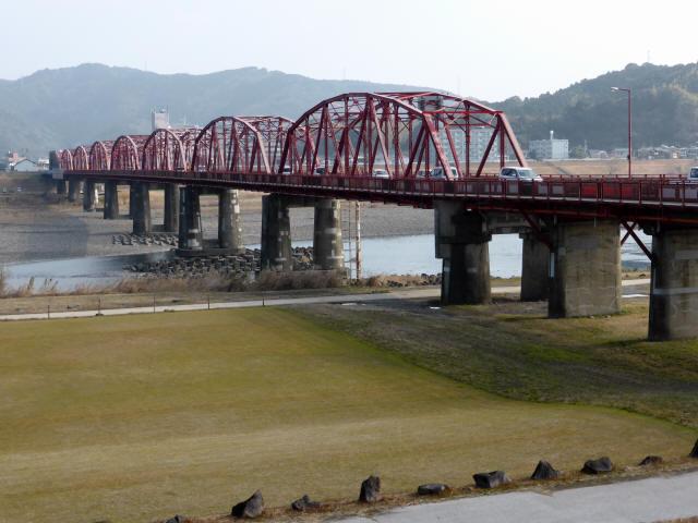 四万十川橋(赤鉄橋)5