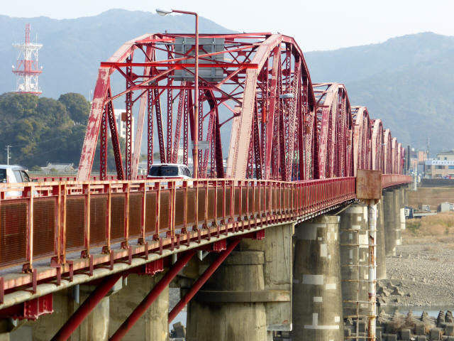 四万十川橋(赤鉄橋)1